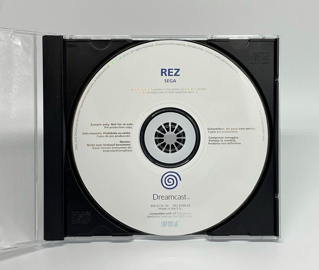 EU Dreamcast Sample