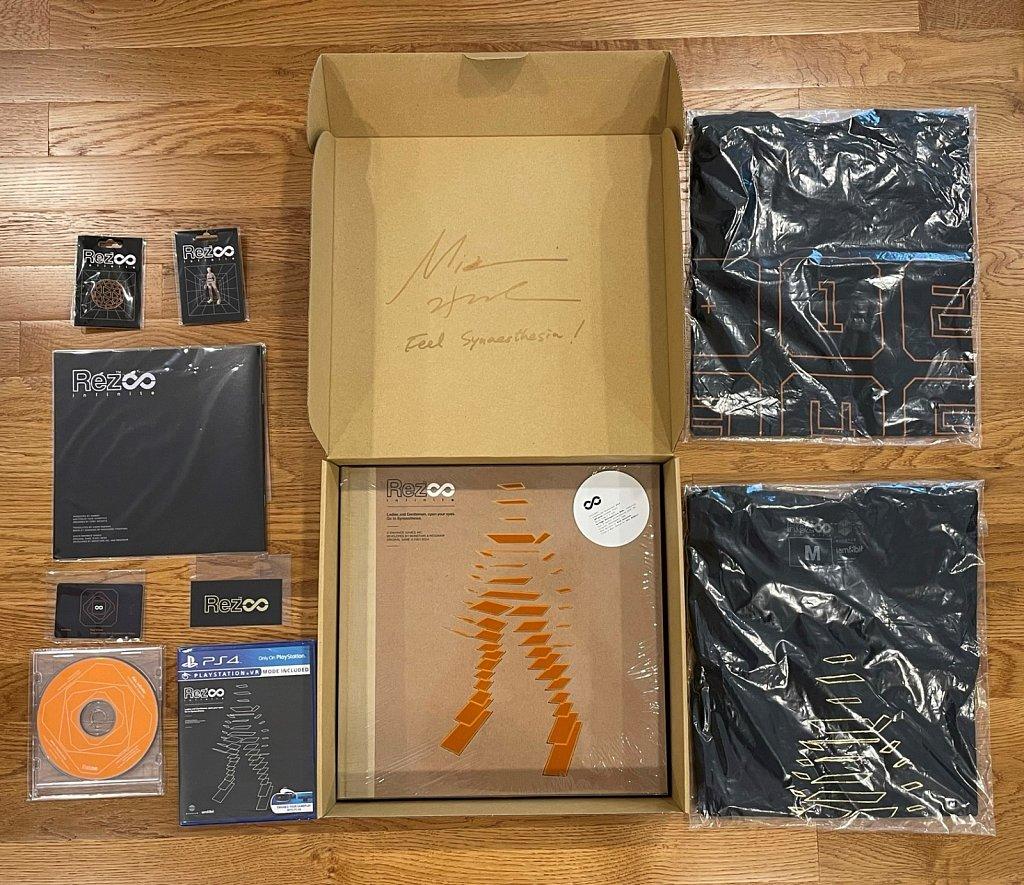Rez Infinite Complete Pack