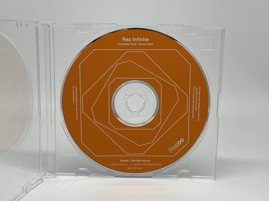 Rez Infinite Complete Pack Bonus CD